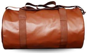 Yunhi Leather Men Gym bag - Brown