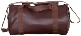 Yunhi Leather Men Gym bag - Brown
