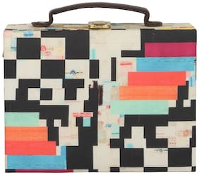 Zoe Makhoa Women Solid Canvas - Clutch Multi