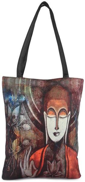 Zoe Makhoa Women Solid Canvas - Tote Bag Multi
