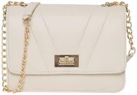 Medium Sling Bag ( Cream )