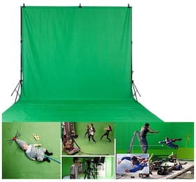 1.6 x 3M/5 x 10FT Photography Studio Non-woven Backdrop Background Screen Green
