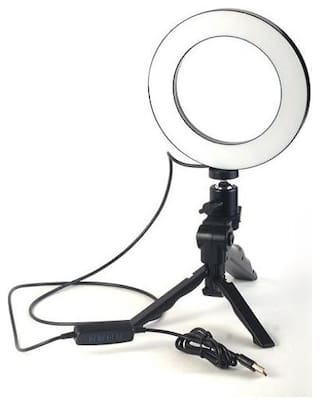18 inch LED Ring Light with Stand for Camera Smartphone YouTube Video Shooting and Makeup