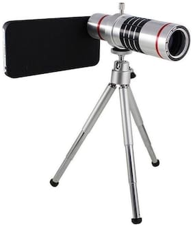 18X 4K HD Universal Zoom Mobile Phone Telescope Lens Telephoto External Smartphone Camera Lens with Tripod