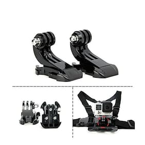 2 x J Hook Quick Release Buckle For GoPro Hero