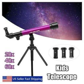 20-60x Kids Children Astrological Telescope Tripod Science Educational Toy