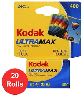20 Rolls Kodak UltraMax GC 400 135-24 Color Print 35mm Film **Fresh Date**