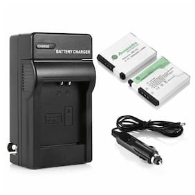 2PCS NB-11L NB11LH Battery +Charger For Canon PowerShot ELPH 110 HS A2300 A2500