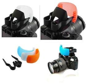 3 color Pop Up Flash Bounce Diffuser Cover kit T7I T6I 80D D3500 D3400 SL2 77D