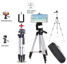 3110 Alluminum Adjustable Tik Tok Tripod Compatible With All Smartphones
