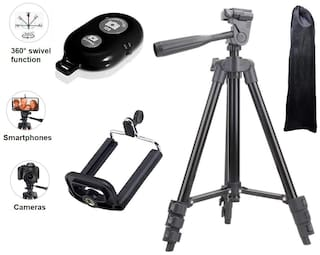 3120 Tripod With Bluetooth Remote Tik Tok Mobile Tripod Compatible With All Smartphones