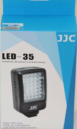 35 LED  Professional LED Lighting For Nikon D7500 D3400 D5500 D5600 D810 D610 D5
