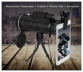 4in1 40X60 Hunting Camping Hiking Travel Day&Night Vision HD Monocular Telescope