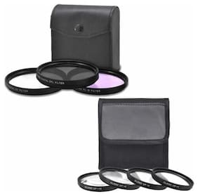 52mm Filter Set + 52mm Close Up Filter Set for Nikon D800 D810 D5100 D5200 D5300