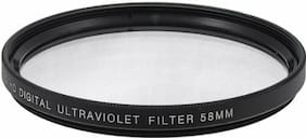 58mm HD Digital Ultraviolet Filter for DSLR Cameras