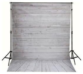 5X7FT Vinyl Studio Photography Backdrop Vintage Floor Light Background Props Kit