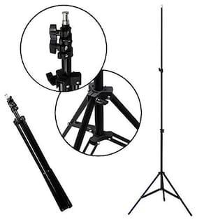 7 Feet Big Tripod Stand for Mobile and Camera Adjustable Aluminium Alloy Big Tripod Stand