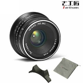 7Artisans 25MM F1.8 mirrorless camera Manual Fixed Lens f  FUJI FX Mount X-A1