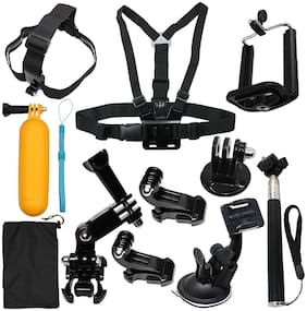 Action Pro 12 IN ONE Camera Accessories Kit Starter Bundle for GoPro Hero