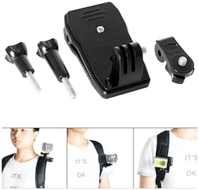 Action Pro Camera Clip Mount 360 deg Rotary Clip for GoPro Clamp Mount