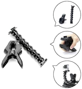 Action Pro Jaws Flex Clamp Mount with Adjustable Gooseneck for Gopro Hero