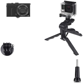 Action Pro 2-In-1 Pistol Handgrip and Tabletop Tripod High-end Tripod Monopod for Go Pro Hero 7 6 5 4S 4 3+ 3 2 for XIAOMI Yi 2 for SJCAS J4000 camera GP237