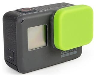 Action Pro Silicone Protective Lens Cap for GoPro Hero 5 Black Action Camera Protector for Go Pro Accessories (Green)