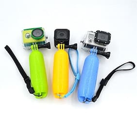Action Pro YELLOW Floating Handle Grip Pole Wrist Strap for Gopro