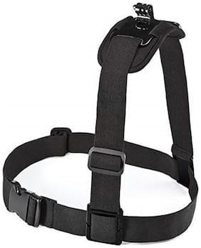 Adjustable Single Shoulder Strap Mount Chest Harness Belt Travel For GoPro SOOCOO SJCAM Xiaomi Yi