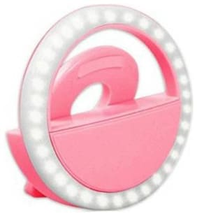 Afrodive Portable Selfie Led Light Ring Flash Night Light For Smartphones, Tablets, Ipad
