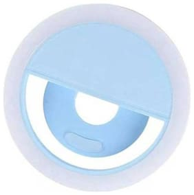 Afrodive Varipot Portable Selfie Led Light Ring Flash Night Light For Smartphones, Tablets