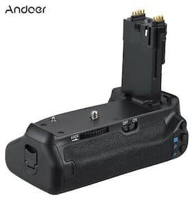 Andoer BG-1T Vertical Battery Grip Holder for Canon EOS 70D/80D DSLR Camera R4M4