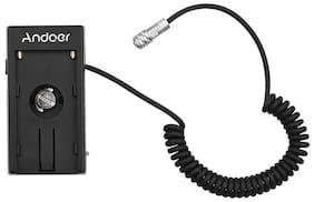 Andoer Blackmagic Cinema Camera BMPCC 4K Power Supply Mount Plate Adapter V0Q9