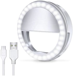 Arhub Professional Micro Ring Light For Live Stream/Makeup, Youtube, Musically, Tiktok Videos And Selfies