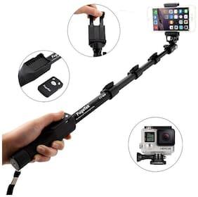 ACCESORIES LEGACY  YT-1288 A Selfie 2 In 1 Adjustable Monopod Stick  for Smartphones & DSLR Cameras