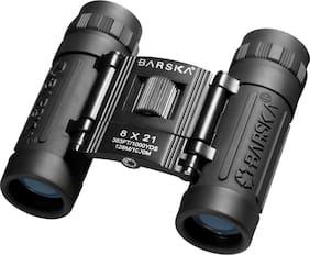 Barska Lucid AB10109 8x21 Compact Binoculars W/ Case