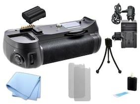 Battery Grip for Nikon D610 DSLR Camera + 1 ENEL15 + Charger + Kit MB-D14, MBD14