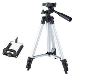Bazaartrick MB-3110 Extendable 3.5 Feet Tripod Stand for Mobile, GoPro & DSLR Camera