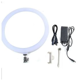 Big LED Ring Light for Camera Smartphone You-Tube Video Shooting and Makeup for Tiktok, Musically, Vigo and Many More