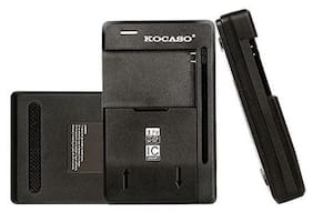 Black Universal Battery Charger For Samsung Galaxy Series Cell Mobile Phone