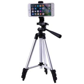 Bluebells India Adjustable Portable Phone Holder Camera Tripod Stand 3110 Videos with good quality and strong body