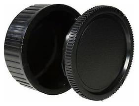 Body Cap & Camera Rear Len Cover Set for Pentax K30, K5, K7 K20D, K110D, K200D,