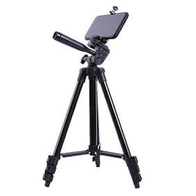 Bonito 3120A Tripod Stand Holder for Mobile Phones & Camera 345 mm -1020 mm Quick Leverlock + Mobile Holder Bracket