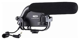 Boya BY-VM190 Shotgun Microphone with Windshield for Canon Nikon DSLR Camera