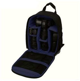 Brain Freezer J Camera Shoulder Backpack for DSLR (Dark Blue)