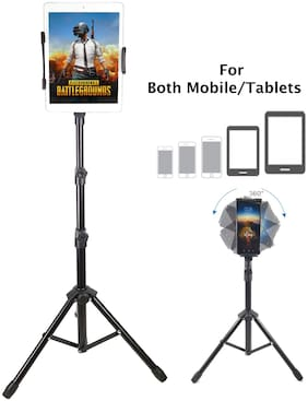 BROLAVIYA Tripod Stand for 4'-11' inch,Compatible with iPad Galaxy Ipad,Tablet, Mobile PCs