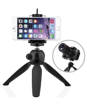 "BTK Trade 228MS Non Extentable 6"" inch Tripod Stand for Mobile, GoPro"