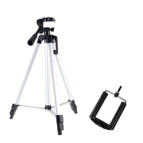 BTK Trade MS-330A Extentable 5.0 Feet Tripod Stand for Mobile, GoPro & DSLR Camera