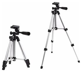 BUDDIES CART Heavy Duty Professional Portable Magnesium Aluminium Travel Tripod Stand By Buddies Cart
