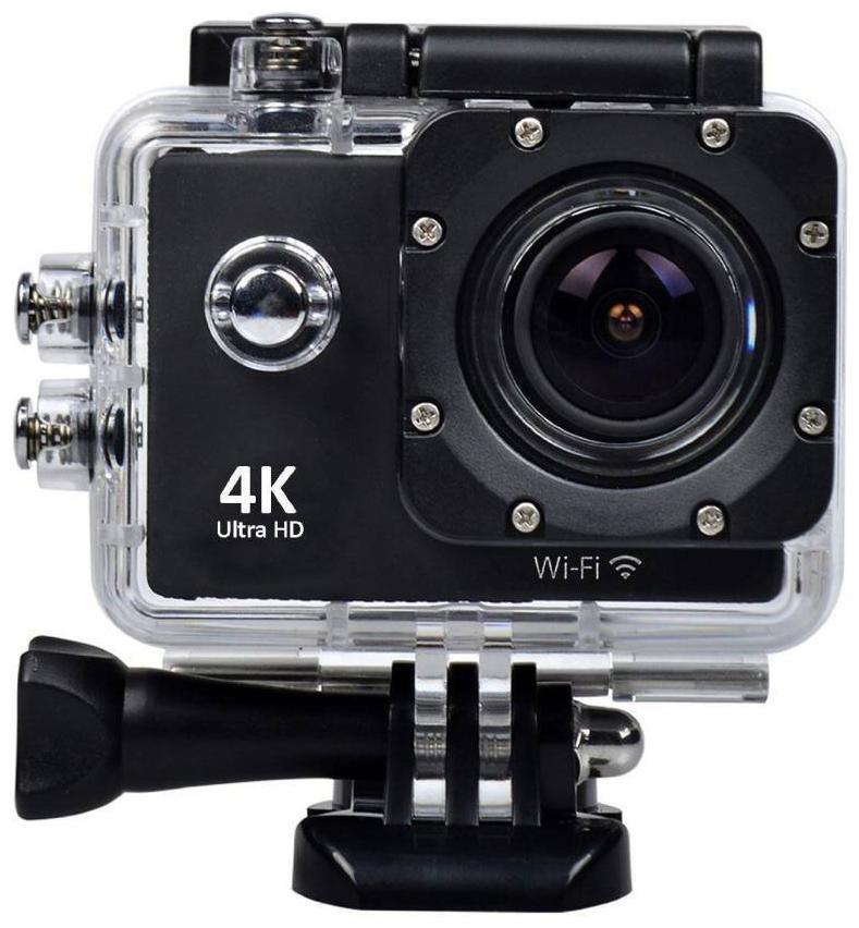 BUSHWICK 4k waterproof sports action ultra hd camera Camera Remote Control